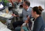 lek. med Tomasz Walkowiak, pediatra - USG mózgu (przezciemiączkowe)